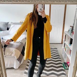! FLASH SALE ! Classic Zara Coat (Yellow)